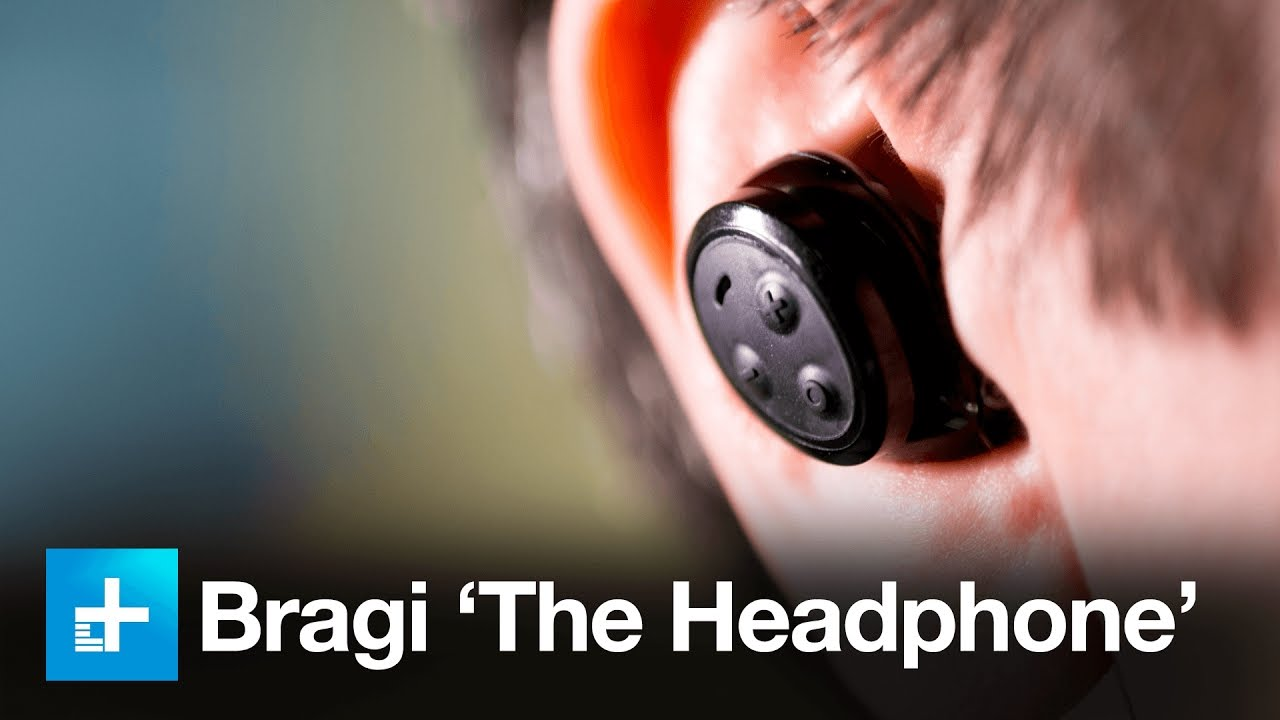f498693752c Bragi 'The Headphone' Wireless Earbuds - Hands On Review - YouTube