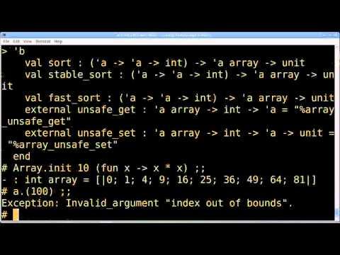 OCaml: Hässliche Programmierung