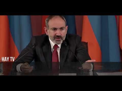 Премьер Армении обратился к армянам и азербайджанцам пользователям ю туба.