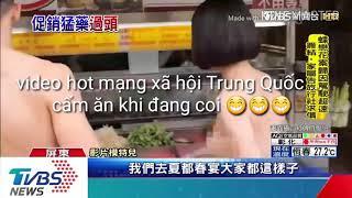 Video hot Trung Quốc... trai đẹp gái xinh nude đi bộ gây náo loạn....