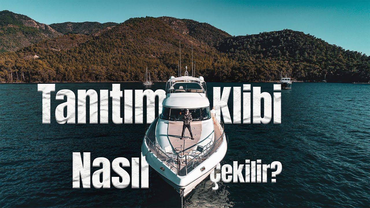 Lüks Motoryat Sinematik Video çekimi/Kamera Arkası