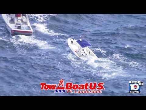 TowBoatU.S. Salvage Team at Work!