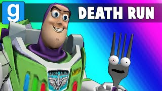 Gmod Death Run Funny Moments - Saving Forky from the Toy Story 4 Course! (Garry