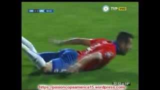 (Relato Emocionante) Chile 1 Uruguay 0 (Relato Andres Cantor   Copa America 2015