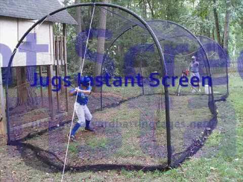 backyard batting cages youtube