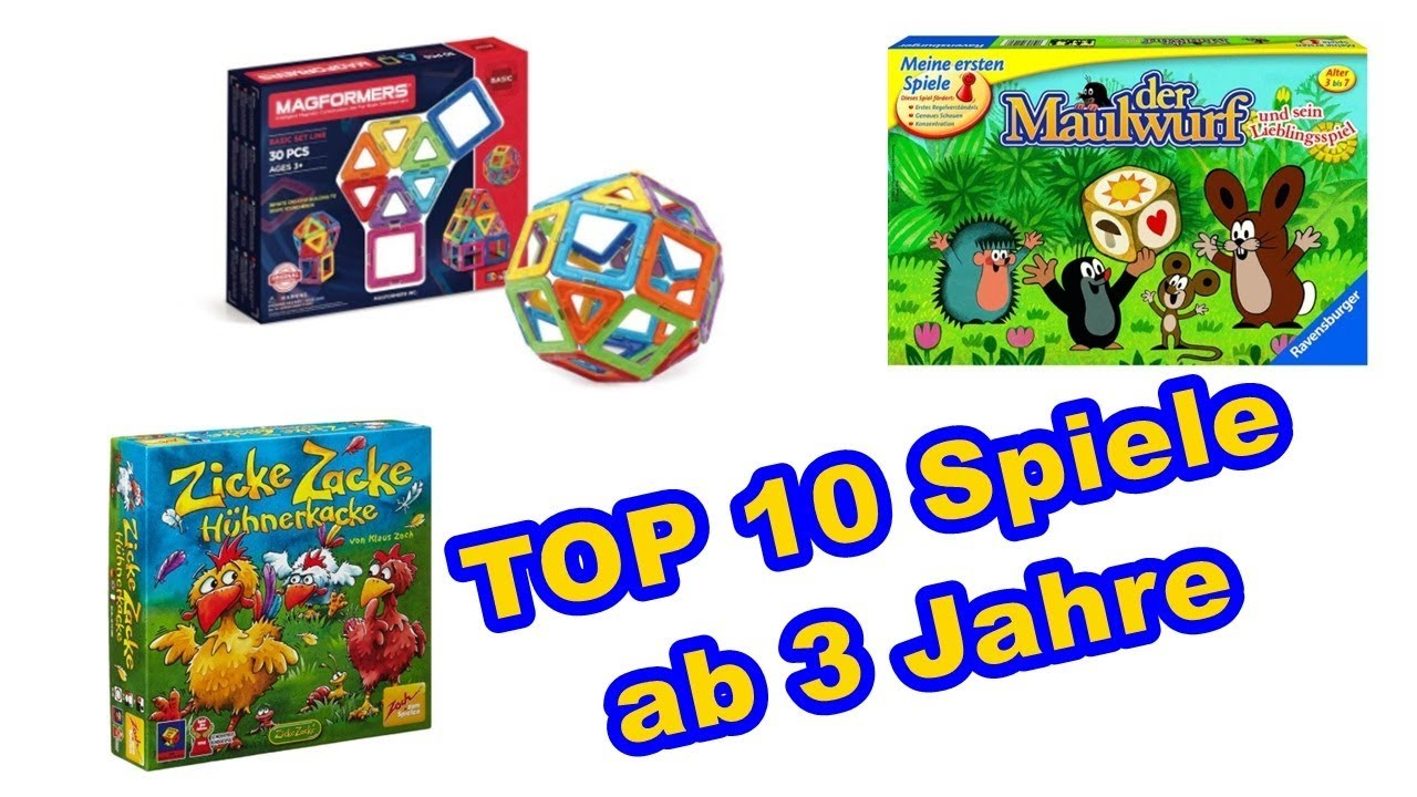 top 10 spiele f r kinder ab 3 jahren 3 gesellschaftsspiele f r kinder youtube. Black Bedroom Furniture Sets. Home Design Ideas