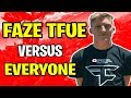Is Faze Tfue considered the best player in the world? | Fall Skirmish Full Gameplay | Fortnite Ninja
