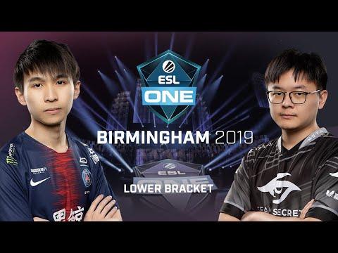 PSG.LGD vs Team Secret - ESL One Birmingham - Game 3