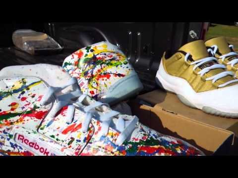 ThePicassoLounge Customs X LogiCustoms - Reebok Workout Mid R12