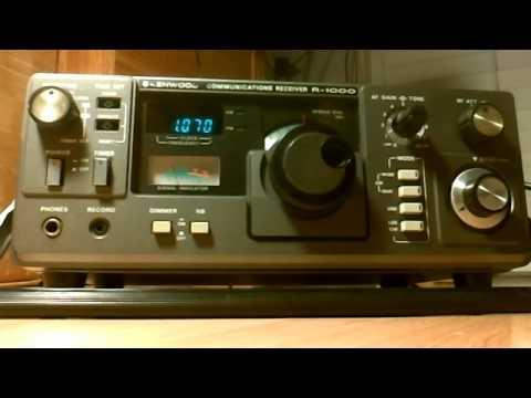 Kenwood R-1000 AM KNX 1070