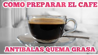 CAFE QUEMA GRASA KETO CETOGENICO LOW CARB DIETA 2020 ANTIBALAS