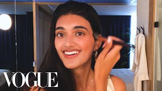 Model Neelam Gill's Guide to Off-Duty Beauty | Beauty Secrets | Vogue