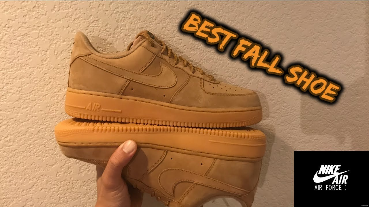 Best Fall Shoe Nike Air Force 1 Low Flax 2017 YouTube