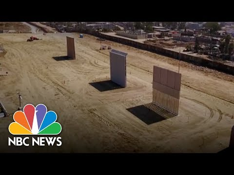 Download Youtube: See How President Donald Trump's Border Wall Prototypes Are Taking Shape | NBC News