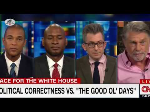 Actor Graham Beckel Appears Live on CNN to Absolutely Slam the Post Colonial Victim Shit