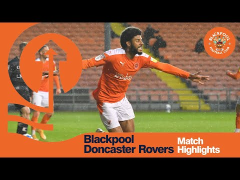 Blackpool Doncaster Goals And Highlights