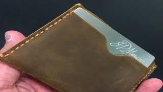 Kinzd Leather Wallets & Carbon Fiber Money Clip
