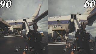 In This Video you see The comparison between 60 FOV & 90 FOV in Rai...