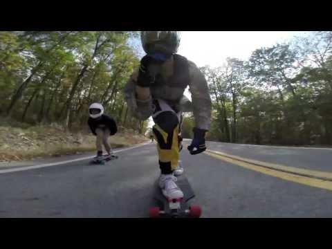 GoPro Superview - Speedboarding 50mph - SILVERFISH LONGBOARDING.COM