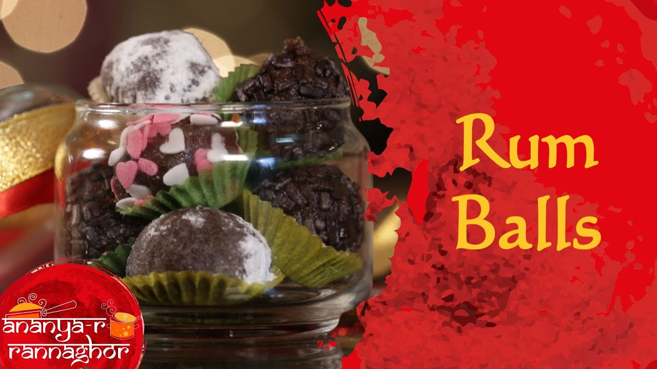 How To Make Rum Balls At Home | Christmas Special Recipes - YouTube