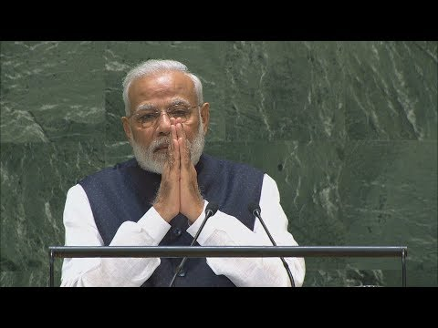 🇮🇳 India - Prime Minister Addresses General Debate, 74th Session