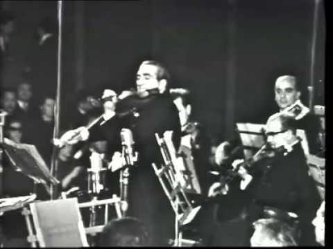 Aldo Ferraresi plays Sibelius, Solemn Melodie Op.77 No.1 (rare video fragment)