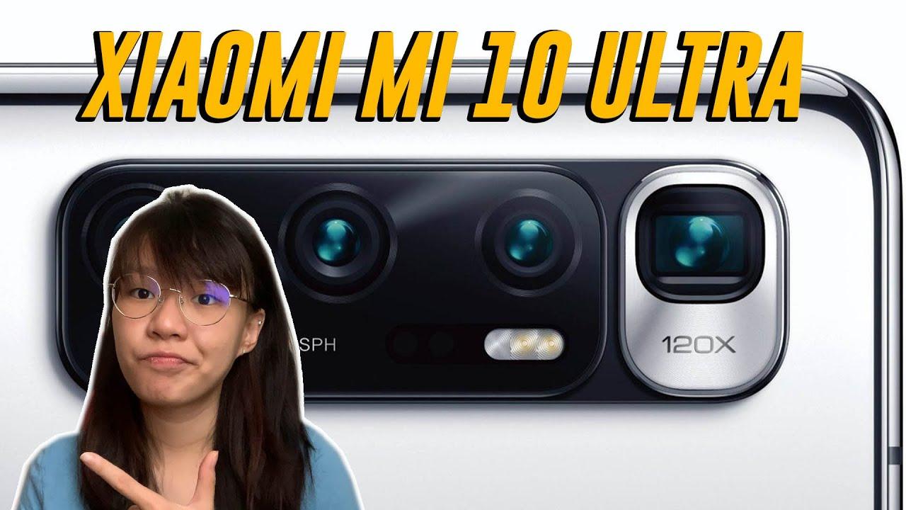 Xiaomi Mi 10 Ultra with 120X Digital Zoom?!