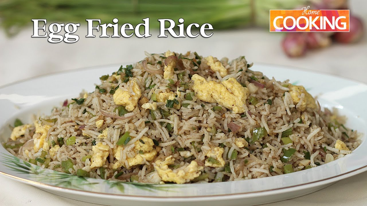 Egg fried rice ventuno home cooking youtube ccuart Gallery