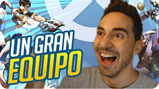 UN GRAN EQUIPO! | OVERWATCH - Sara, Macundra y Luh