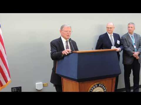 United States Senator Jim Inhofe - Presented 2017 Water Week Award