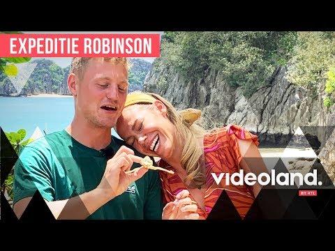 HILARISCH: Kaj Gorgels En Nicolette Kluijver Doen De Eetproef! | Expeditie Robinson