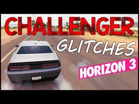 Forza Horizon 3 - Dodge Challenger Hellcat Glitches - FH3 Challenger Hellcat Body Kit Preset Build