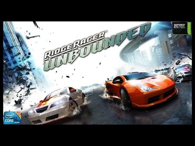 Ridge Racer Unbounded - i3 3250 + gtx 750ti - FULL HD
