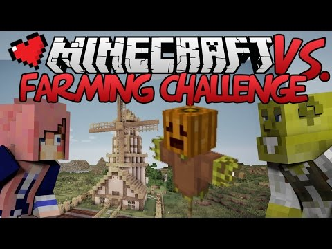 Farming Challenge | Minecraft VS. Ep 11