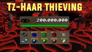 TzHaar Thieving Guide - BEST Thieving Method  [POST 99]