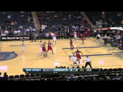 Nets vs. Bobcats 2012 highlights [3-4-2012]