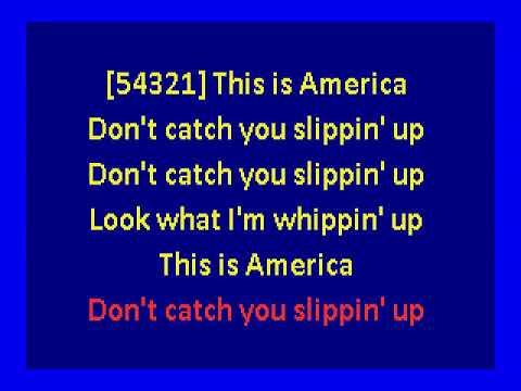 Childish Gambino  - This Is America  (karaoke)