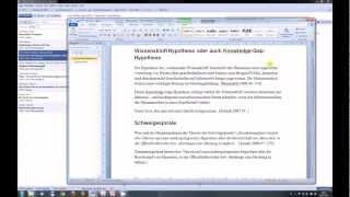 06 Citavi: im Dokument arbeiten