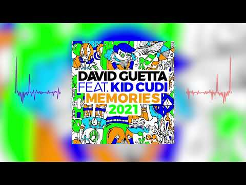 David Guetta - Memories (ft. Kid Cudi)(2021 remix) [visualizer]