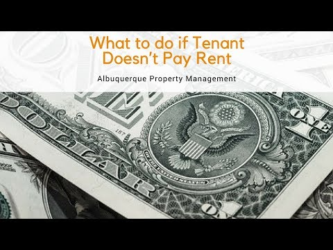 What to do if Tenant Doesn't Pay Rent – Albuquerque Property Management