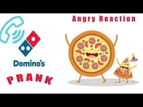 Domino's Prank Call! Angry Reaction| Latest Pranks 2018| Domino's pranked in India