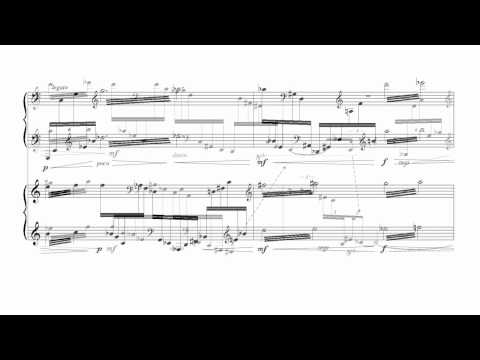 Nikos Drelas - The Past Strikes Again for Piano duet [with score]