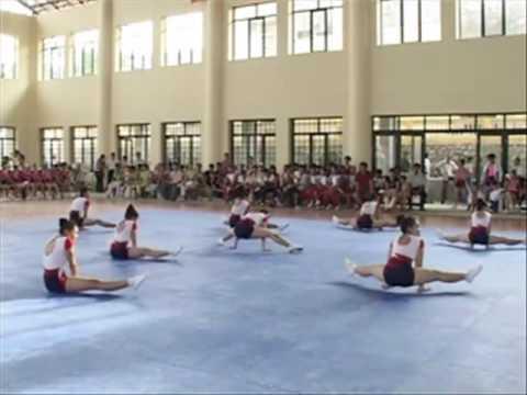 Bài thi đấu AEROBICS tự chọn đội Tiền Giang