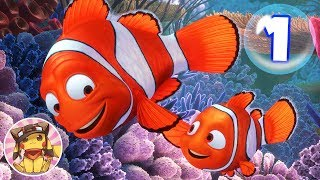 FINDING NEMO Movie Gameplay Walkthrough Part 1 [1080p] No commentary