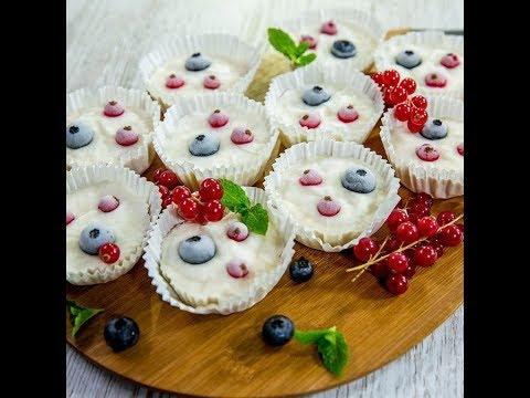 Cupcakes din înghețată de vanilie