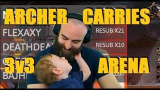 Bajheera - ARCHER CARRIES 3v3 ARENA (2200+ MMR) - WoW BFA 8.3 Season 4 PvP