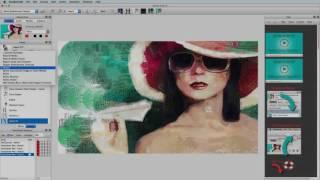 Авто допомогу і керівництво живопису в студії художника 5