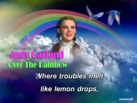 Over the Rainbow Karaoke Judy Garland