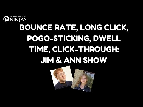 Click-through and Bounce Rate: How Google and Bing Rank Websites