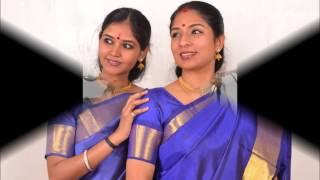 Deepa-Divya sisters: Slokam followed by Sri Saraswathi- Arabhi-Rupakam-Dikshitar